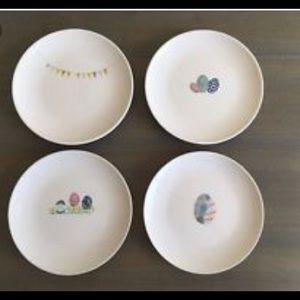 Rae Dunn Easter plates